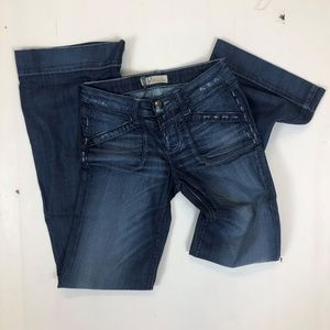 Level 99 Size 25 Flare Jeans